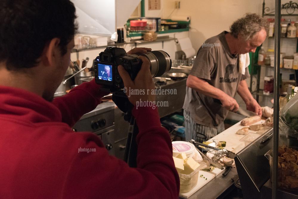 RSVP Restaurant West Cornwall CT. Kitchen and Food
