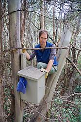Sam Banks & Leadbeater's Possum Nest Box