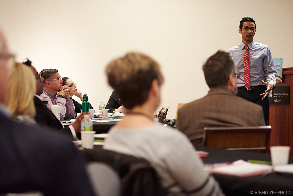 Nonprofits are increasingly asked to work collaboratively to achieve scale and impact.  Much has been covered on the legal and financial aspects of collaboration, but why is it still hard?  This symposium will bring together social science experts and nonprofit practitioners to learn from one another about how the latest research can inform the human dynamics that challenge nonprofit resource sharing.<br /> by The Nonprofit Centers Network & Culture Works<br /> April 28, 2016
