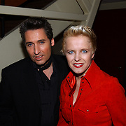 Harpengala 2004, Rene Shuman en vriendin