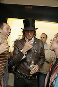 Wild Cat Will, PPQ of Mayfair shop launch. 47 Conduit St. 18 September 2006. ONE TIME USE ONLY - DO NOT ARCHIVE  © Copyright Photograph by Dafydd Jones 66 Stockwell Park Rd. London SW9 0DA Tel 020 7733 0108 www.dafjones.com
