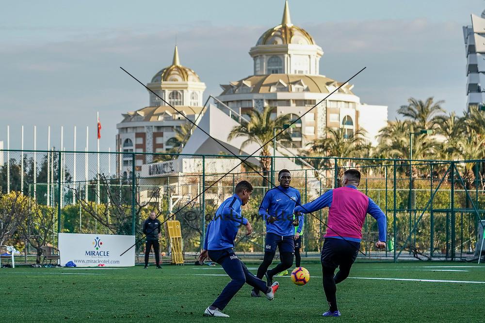 13.01.2019; Belek; FUSSBALL SUPER LEAGUE - Trainingslager FC Zuerich; Yann Kasai (Zuerich) (Andy Mueller/freshfocus)