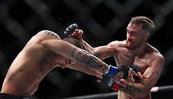 10.04.2016, Arena, Zagreb, CRO, UFC Fight Night, im Bild Robert Whiteford vs. Lucas Martins. // during the UFC Fight Night at the Arena in Zagreb, Croatia on 2016/04/10. EXPA Pictures © 2016, PhotoCredit: EXPA/ Pixsell/ Slavko Midzor<br /> <br /> *****ATTENTION - for AUT, SLO, SUI, SWE, ITA, FRA only*****