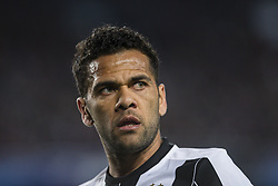 April 19, 2017 - Barcelona, Spain - Dani Alves of Juventus FC during the UEFA Champions League Quarter Final second leg match between FC Barcelona and Juventus at Camp Nou Stadium on April 19, 2017 in Barcelona, Spain. (Credit Image: © NurPhoto via ZUMA Press)