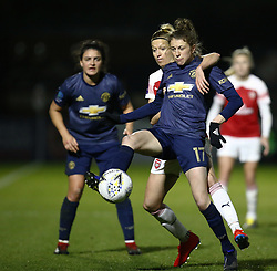 February 7, 2019 - London, England, United Kingdom - Lizzie Arnot of Manchester United Women .during FA Continental Tyres Cup Semi-Final match between Arsenal and Manchester United Women FC at Boredom Wood on 7 February 2019 in Borehamwood, England, UK. (Credit Image: © Action Foto Sport/NurPhoto via ZUMA Press)