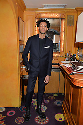 CHARLIE CASELY HAYFORD at an exclusive performance by Mark Ronson at Annabel's, Berkeley Square, London on 2nd March 2016.