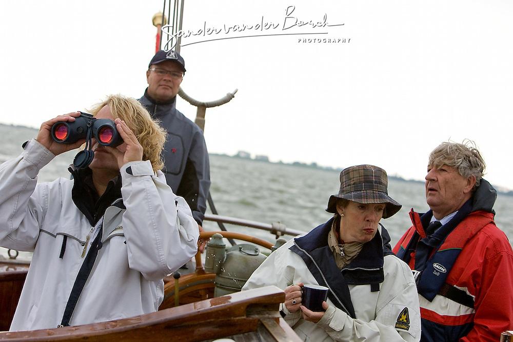 © Sander van der Borch. Hindelopen,  13 September 2008. Dirk Blom Lemsteraken Hurdsilerij.
