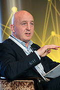 Keith Wood hosts a panel discussion at the Orreco Science Summit, Glenlo Abbey Hotel, Galway, 25.10.16