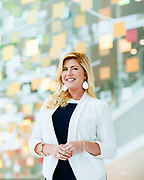 18 April 2018- Michelle Schrage is photographed at TD Ameritrade for B2B Magazine.