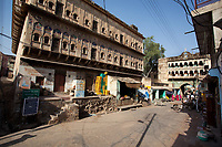 in Mandawa street rajasthan state in indi