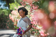 Summertime bride at The Maples, Woodland, CA