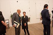 ANTHONY D'OFFAY, Damien Hirst, Tate Modern: dinner. 2 April 2012.