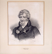 Baron Cuvier, French Scientis, is considered to be the father  of modern paleontology and comparative anatomy. He popularized the idea of extinction and debunked the myth that  all creatures still existed in unexplored parts of the planet.