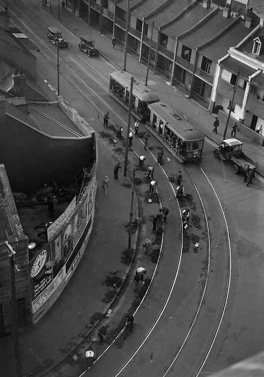 Road Mending, Sydney, Australia,1930
