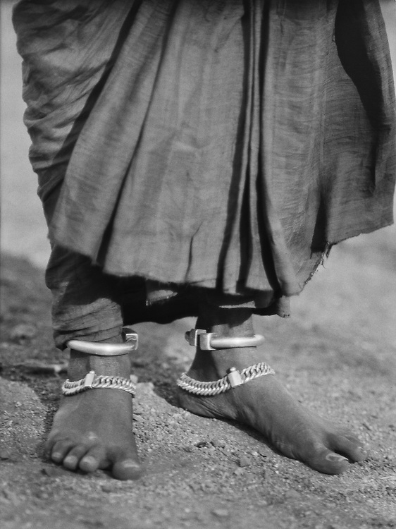 Ankle Jewellery on a Sudra Woman, 1929