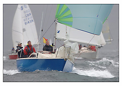 The second days racing at the Bell Lawrie Yachting Series in Tarbert Loch Fyne ...Strong winds, high seas and heavy rain dominated the day...Winning Sonata GBR8217N So.