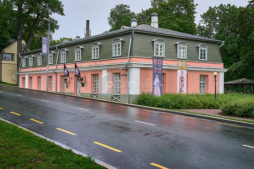 Travel the World. Parque Kradiorg. Tallin. Estonia
