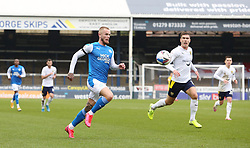 Joe Ward of Peterborough United in action against Oxford United - Mandatory by-line: Joe Dent/JMP - 17/10/2020 - FOOTBALL - Weston Homes Stadium - Peterborough, England - Peterborough United v Oxford United - Sky Bet League One
