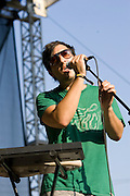 Friday, August 1, 2008; Grizzly Bear performs at Lollapalooza 2008..Photo by Bryan Rinnert