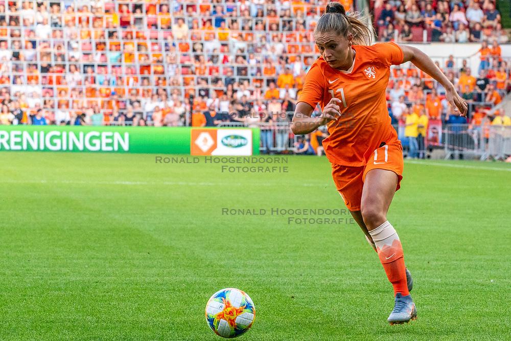 01-06-2019 NED: Netherlands - Australia, Eindhoven<br /> <br /> Friendly match in Philips stadion Eindhoven. Netherlands win 3-0 / Lieke Martens #11 of The Netherlands