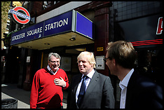 Lynton Crosby and Boris Leicester Sq