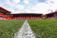 A general view inside The Valley Stadium prior to the EFL Sky Bet League 1 match between Charlton Athletic and Southend United at The Valley, London, England on 9 February 2019.
