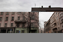 "The view from a driveway near the home of Veronika Sindelárová in Ostrava, Czech Republic on March 1, 2012. Veronika Sindelárová was one of 18 Roma children who were in represented in the D.H. and Others v. Czech Republic case. When this case was first brought in 2000, Roma children in the Czech Republic were 27 times more likely to be placed in ""special schools,"" intended for the mentally disabled, than non-Roma children. In 2007, the Grand Chamber of the European Court of Human Rights ruled that this pattern of segregation violated nondiscrimination protections in the European Convention on Human Rights. Despite this landmark decision, little change has occurred: the ""special schools"" have been renamed but follow the same substandard curriculum and Roma continue to be assigned to these schools in disproportionate numbers. The process of integration has barely begun."