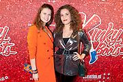 Premiere musical Kinky Boots in Theater De Meervaart Amsterdam.<br /> <br /> Op de foto:  Britt Scholte en Annefleur van den Berg