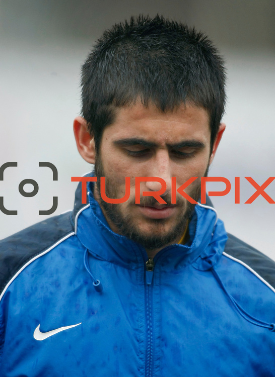 Eyupspor's Halil Celik during their Turkey Cup matchday 3 soccer match Eyupspor between Eskisehirspor at Eyup Stadium in Istanbul Turkey on Wednesday, 11 January 2012. Photo by TURKPIX
