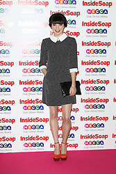 © Licensed to London News Pictures. 21/10/2013, UK. Rachel Bright, Inside Soap Awards, Ministry Of Sound, London UK, 21 October 2013. Photo credit : Richard Goldschmidt/Piqtured/LNP