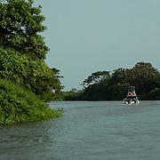 Cano de Mantuilla eventually connects to the Amazon River.
