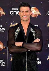 Aljaz Skorjanec at the launch of Strictly Come Dancing 2018 held at The Broadcasting House, London.