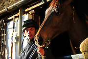 2010 Gold Cup winner, Imperial Commander with Nigel Twiston Davies