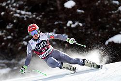 28.12.2017, Stelvio, Bormio, ITA, FIS Weltcup, Ski Alpin, Abfahrt, Herren, im Bild Blaise Giezendanner (FRA) // Blaise Giezendanner of France in action during mens Downhill of the FIS Ski Alpine Worldcup at the Stelvio course, Bormio, Italy on 2017/12/28. EXPA Pictures © 2012, PhotoCredit: EXPA/ Johann Groder