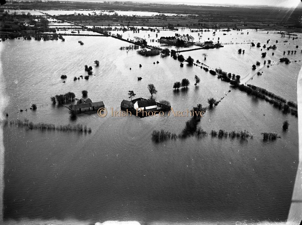 Floods - Shannon Flooding - Aerial Views .05/01/1957