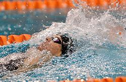 10-04-2014 NED: NK Swim Cup, Eindhoven<br /> Jordis Steinegger AUT, 200m rug