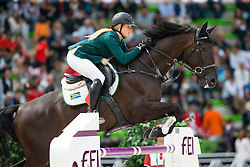 Jade Hook, (RSA), A New Era - Team & Individual Competition Jumping Speed - Alltech FEI World Equestrian Games™ 2014 - Normandy, France.<br /> © Hippo Foto Team - Leanjo De Koster<br /> 02-09-14