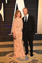 Mireille Enos and Alan Ruck attending the 2019 Vanity Fair Oscar Party hosted by editor Radhika Jones held at the Wallis Annenberg Center for the Performing Arts on February 24, 2019 in Los Angeles, CA, USA. Photo by David Niviere/ABACAPRESS.COM