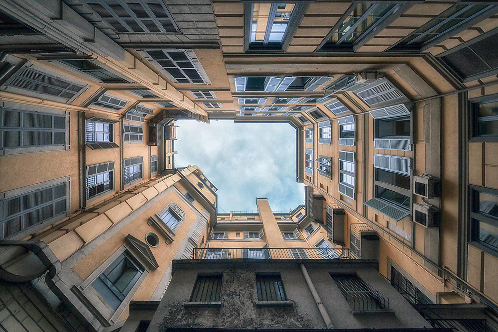 Tunnels to the Sky series<br /> Milan<br /> Italy. 2013