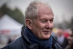 February 20, 2019 - Montmelo, Barcelona, Spain - Former driver and current advisor for Red Bull GmbH F1 Team Helmut Marko  at the Paddock area of the Circuit de Catalunya in Montmelo (Barcelona province) during the pre-season testing session. (Credit Image: © Jordi Boixareu/ZUMA Wire)