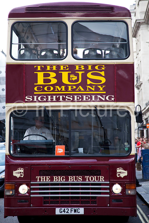 The Big Bus Company sightseeing tours.