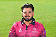 Head shot of Azhar Ali in the Royal London One-Day Cup kit during the 2019 media day at Somerset County Cricket Club at the Cooper Associates County Ground, Taunton, United Kingdom on 2 April 2019