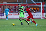 Forest Green Rovers Academy assistant manager Chris Barker runs forward during the Pre-Season Friendly match between Worthing FC and Forest Green Rovers at Woodside Road, Worthing, Uni on 1 August 2017. Photo by Shane Healey.
