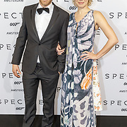 NLD/Amsterdam/20151028 - Premiere James Bondfilm Spectre, Mark van Eeuwen en ...............