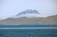 A view of the Chilean Fjords in South America.