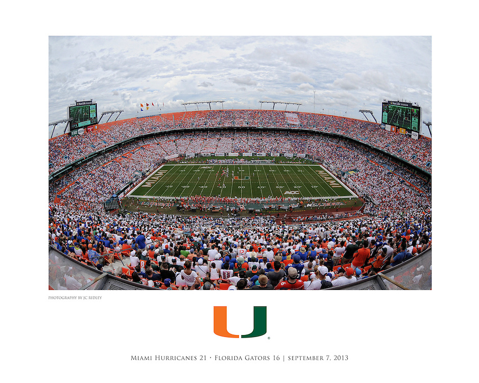 2013 Miami Hurricanes Football vs Florida