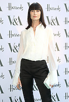 Erin O'Connor, V&A Summer Party, Victoria and Albert Museum, London UK, 22 June 2016, Photo by Richard Goldschmidt
