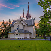 Strinda Church (Norwegian: Strinda kirke) is a parish church in the municipality of Trondheim in Sør-Trøndelag county, Norway. It is located in the Strinda area in the city of Trondheim. The church is part of the Strinda parish in the Strinda deanery in the Diocese of Nidaros. The church was built in 1900 and consecrated on 18 October 1900