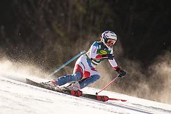 Michelle Gisin (SUI) during the Ladies' Slalom at 56th Golden Fox event at Audi FIS Ski World Cup 2019/20, on February 16, 2020 in Podkoren, Kranjska Gora, Slovenia. Photo by Matic Ritonja / Sportida