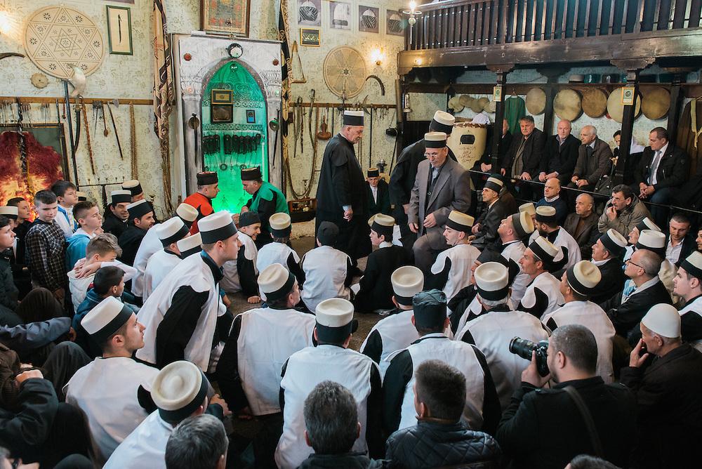 The Tekke (Sufi Shrine) on the morning of the ceremony.